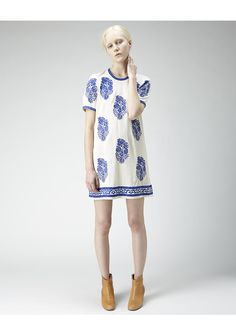 Obsessed with this for Woman. Spring/Summer essential ladies!   Étoile Isabel Marant / Daryl Embroidered Dress
