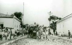 1920 - Esquina da rua Fernão Dias com a Teodoro Sampaio no bairro de Pinheiros.