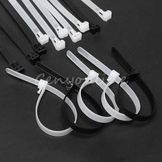 For sale a good quality nylon ties, various size, color and quantity. breaking strength for ties: breaking strength for ties: Material : Polyamide 66 (Nylon). Color : Black or White. Cable Tie, Garden Tools, Workshop, Wraps, Black And White, Ebay, Color, Black White, Colour