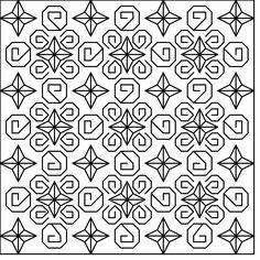 Blackwork Stars Cross Stitch Pattern - http://stitchme.gifts/product/blackwork-stars-cross-stitch-pattern/ Blackwork, Cross Stitch, Pattern, Stars