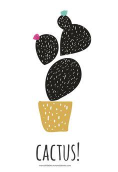dibujo de cactus para imprimir Cactus Drawing, Cactus Art, Cactus Plants, Cacti, Garden Cactus, Cactus Painting, Cactus Flower, Kaktus Illustration, Mexican Art