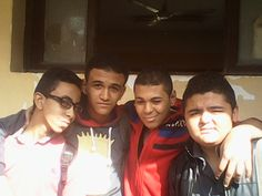 with frinds in High school