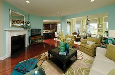 What a great color scheme!  http://www.clarksburgvillage.com/beazer-homes.php