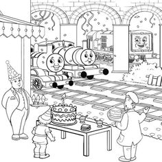 Stanley the tram engine coloring pages ~ Activities Toby the tram engine Thomas and friends ...