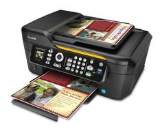 Kodak ESP 2150 Wireless Color Printer with Scanner, Copier & Fax  The all-in-one that gets business done. Stop overpaying for ink and make the smart investment with the KODAK ESP Office 2150 All-in-One Printer. Kodak offers low cost ink replacement so your home office can save money. And you'll save time too, with a suite of tools that will get you to those early a.m. meetings with time to spare. The versatile ESP Office 2150 Printer lets you print, copy, scan, and fax. It's an affor..