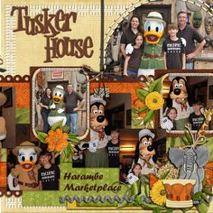 Tusker House Restaurant - MouseScrappers.com