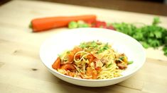 """This is """"Spaghetty con pancetta y pomodoro"""" by Toprecepty on Vimeo, the home for high quality videos and the people who love them. Spaghetti, Ethnic Recipes, Food, Essen, Meals, Yemek, Noodle, Eten"""