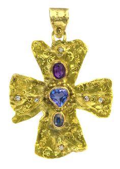 22 karat gold, diamonds ect.