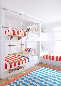 113 Best Coastal Kids Rooms Images In 2019 Bunk Beds Child Room