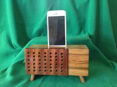 Acoustic speaker for iPhone by Thewoodler on Etsy