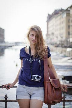 Blonde girl by Lorenzo Spadaro on 500px