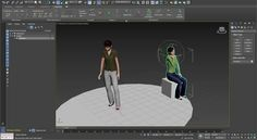 3ds Max Populate Characters Export to Stingray
