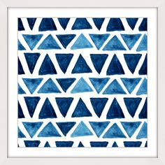 Blue Triangle Bows - Marmont Hill