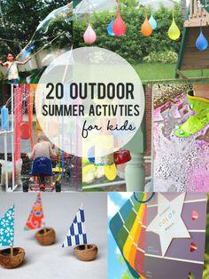 20 Outdoor Summer Activities for Kids » LittleInspiration.com