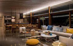 Salon contemporain- déco par les maisons d'architecte du monde entier !