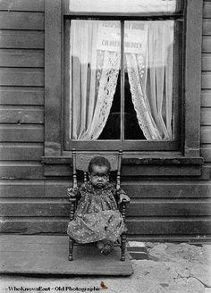 Niño huérfano, Washington (1906)