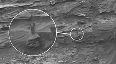 Photos reveal a mysterious woman figure on Mars