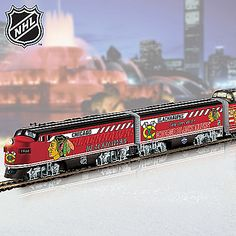 NHL® Chicago Blackhawks® 2013 Stanley Cup® Champions Train Collection: Championship Express