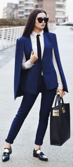 - the glasses, purse, and change it to a normal blazer with real sleeves lol WTF