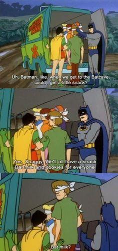 Bat milk?