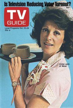 TV Guide October 23, 1976 - Linda Lavin of Alice.