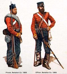 British Army Uniforms Crimean War | Uploaded to Pinterest
