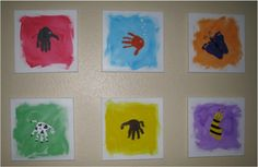 Hand-and-Foot-Print Art!