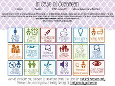 Sample Birth Plan A Visual Customizable Birth Plan By Mama