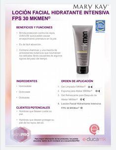 Loción Facial, Mk Men, Ale, Vitamin E, Mary Kay Cosmetics, Ageing, Skin Care, Moisturizer, Men