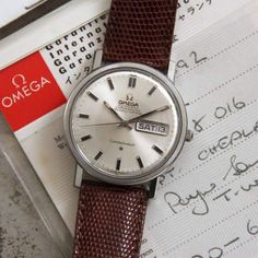19ef3c15611 Omega Constellation Day Date 1970