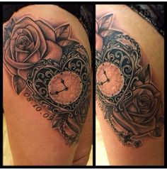 Gorgeous heart clock
