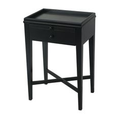 Shop Manto Bedside Table Black at Interiors Online. Exclusive High End Furniture. Square Side Table, Round Side Table, French Country Collections, Modern Bedside Table, Bedside Tables, Black Side Table, Interiors Online, French Farmhouse, Guest Bedrooms