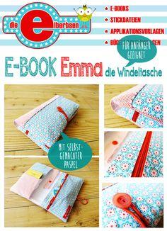Nähanleitungen Kind - ★E-Book ★ Windeltasche EMMA ★ - ein Designerstück von…