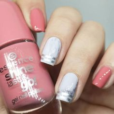 """is wearing our """"SHINE LAST & GO!"""" nail polish in the shade """"I'll cover you""""💅 Such a pretty nude shade, isn't it? Essence Nail Polish, New Nail Polish, Marble Nails, Pink Marble, Essence Cosmetics, Pretty Nails, Nail Art Designs, Shades, How To Wear"""