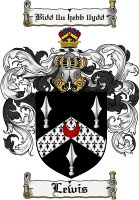 Lewis Coat of Arms / Lewis Family Crest - The surname of LEWIS was a baptismal name 'the son of Louis or Llewis', an ancient and still popular font name. This English surname is widely spread in . Crest Tattoo, Irish Coat Of Arms, Family Shield, Family Crest, Crests, Badge, Symbols, Colours