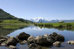 lac de Joux Plane - Exceptionnal view on Mont-Blanc