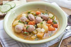 Siskonkorvsoppa - receptet på finska