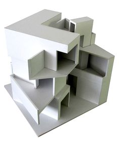 Impressive Architecture Model For You – Design and Decor Conceptual Model Architecture, Architecture Drawings, Concept Architecture, Modern Architecture, Conceptual Sketches, 3d Modelle, Cube Design, Arch Model, Architectural Elements