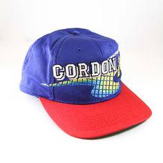 a7d6451f5f18e Jeff Gordan Dupont  24 NASCAR Racing Vintage 90s Snapback Hat     Motorsports Baseball Cap    Two Tone Ballcap