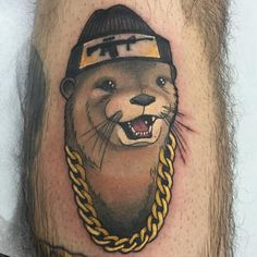 12 Fancy Otter Tattoos | Tattoodo.com