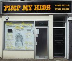 Tattoo parlour in Littlehampton, great name!