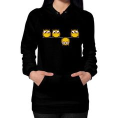 A whole new perspective for the owl Hoodie (on woman)
