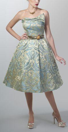 1950's authentic vintage dress.. only $550 on etsy.com - fioridiaranicio