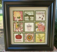Creative Stampin' Up Ideas - Cards - Scrapbooking from Katherine Pritchard Collage Frames, Collages, Scrapbook Embellishments, Fall Cards, Box Art, Stampin Up Cards, Altered Art, Holiday Crafts, Art Projects