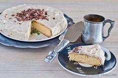 Classic Vanilla Cake - grain, dairy and refined sugar-free