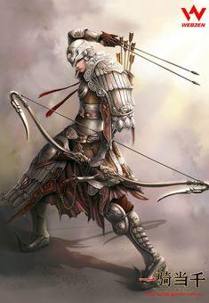 Action, battle archer