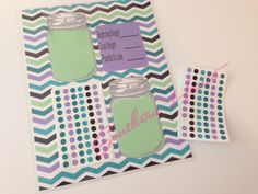 Mason Jar Weight Loss Planner Insert PURPLE COLORWAY Made to  Erin Condren, Plum Paper, Kate Spade, and Filofax Planner by SouthernHaute on Etsy https://www.etsy.com/listing/205653038/mason-jar-weight-loss-planner-insert