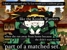 Avatar the Last Airbender: well someone had a change of heart