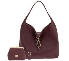Make your move to fashion's forefront with this Dooney & Bourke hobo.  Drool....