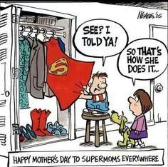 Fijne moederdag voor alle moeders!